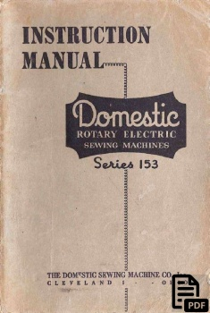 domestic_series_153_manual_cover_page