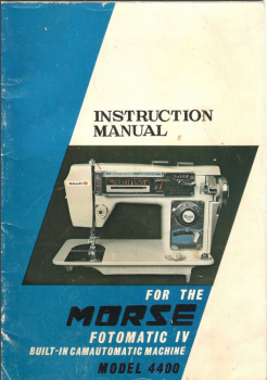 morse_fotomatic_4400_iv_instrtuctoin_manual