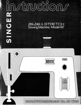 singer_417_instruction_manual_cover_page