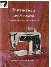 Singer Sewing Model 625 Manual